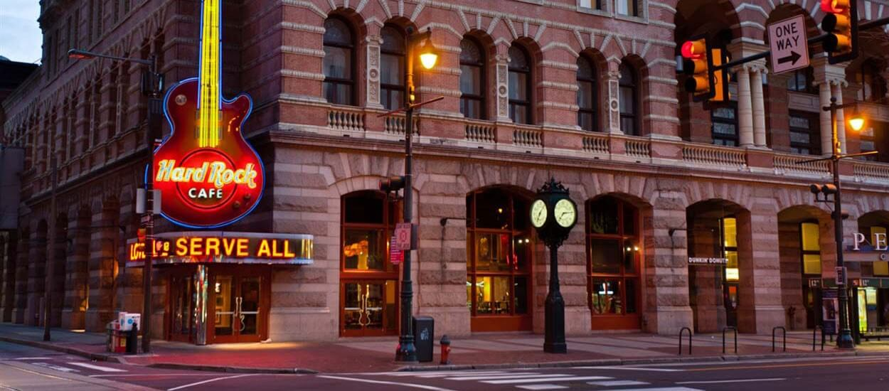 Hard Rock Cafe - Case Study. Transition Technologies PSC