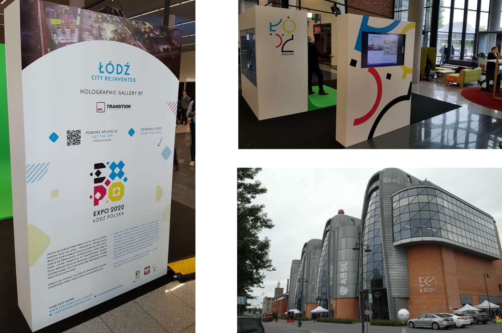 Gallery of Lodz City, booth - Case Study. Transition Technologies PSC