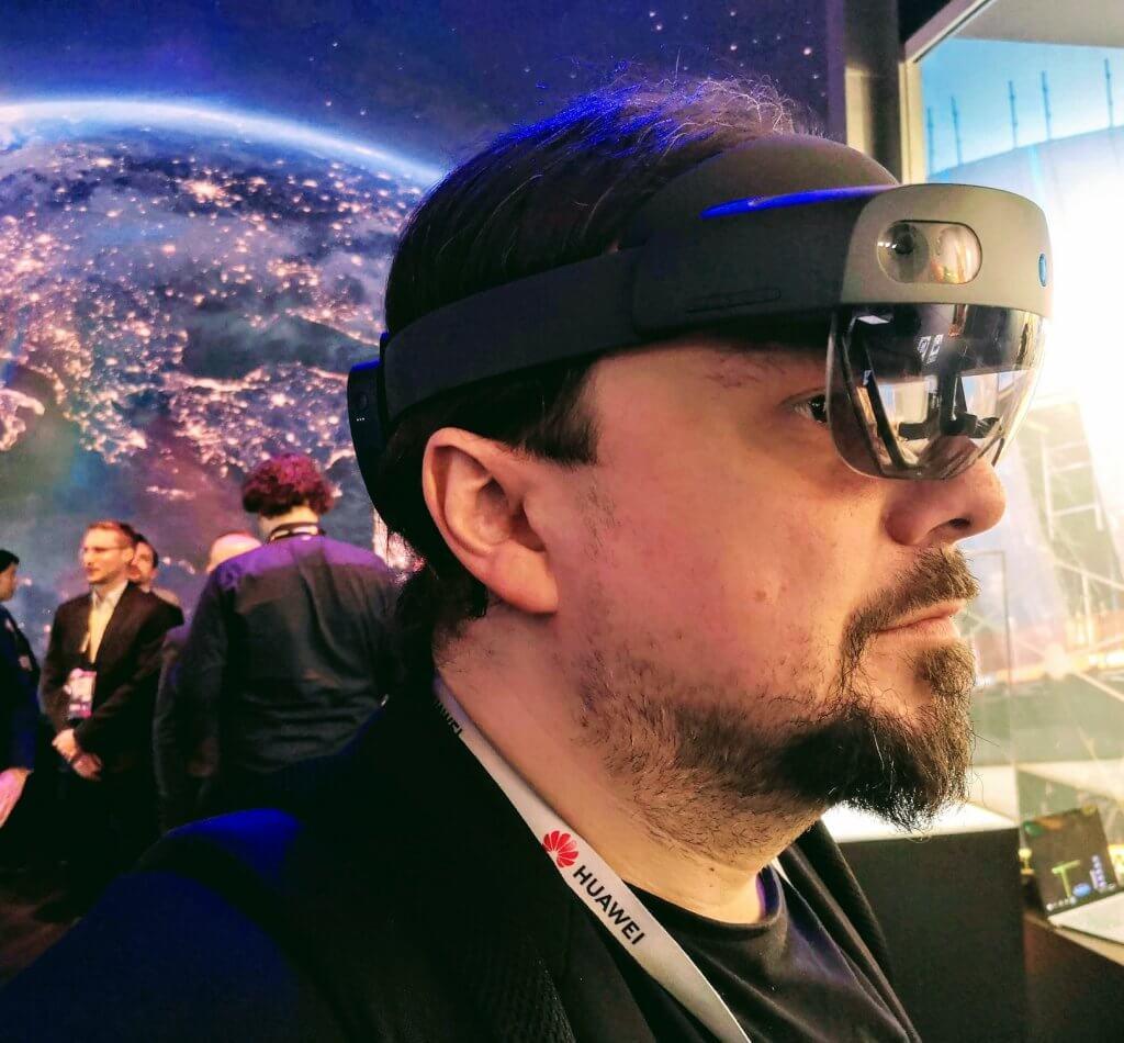 Opinia o Hololens 2 od Microsoft