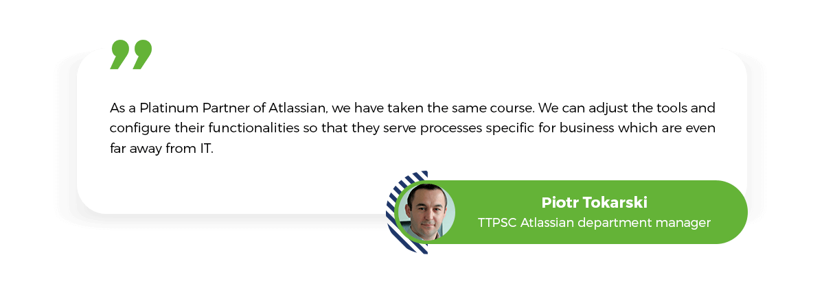 Platinum Solution Partner, Piotr Tokarski, TTPSC Atlassian