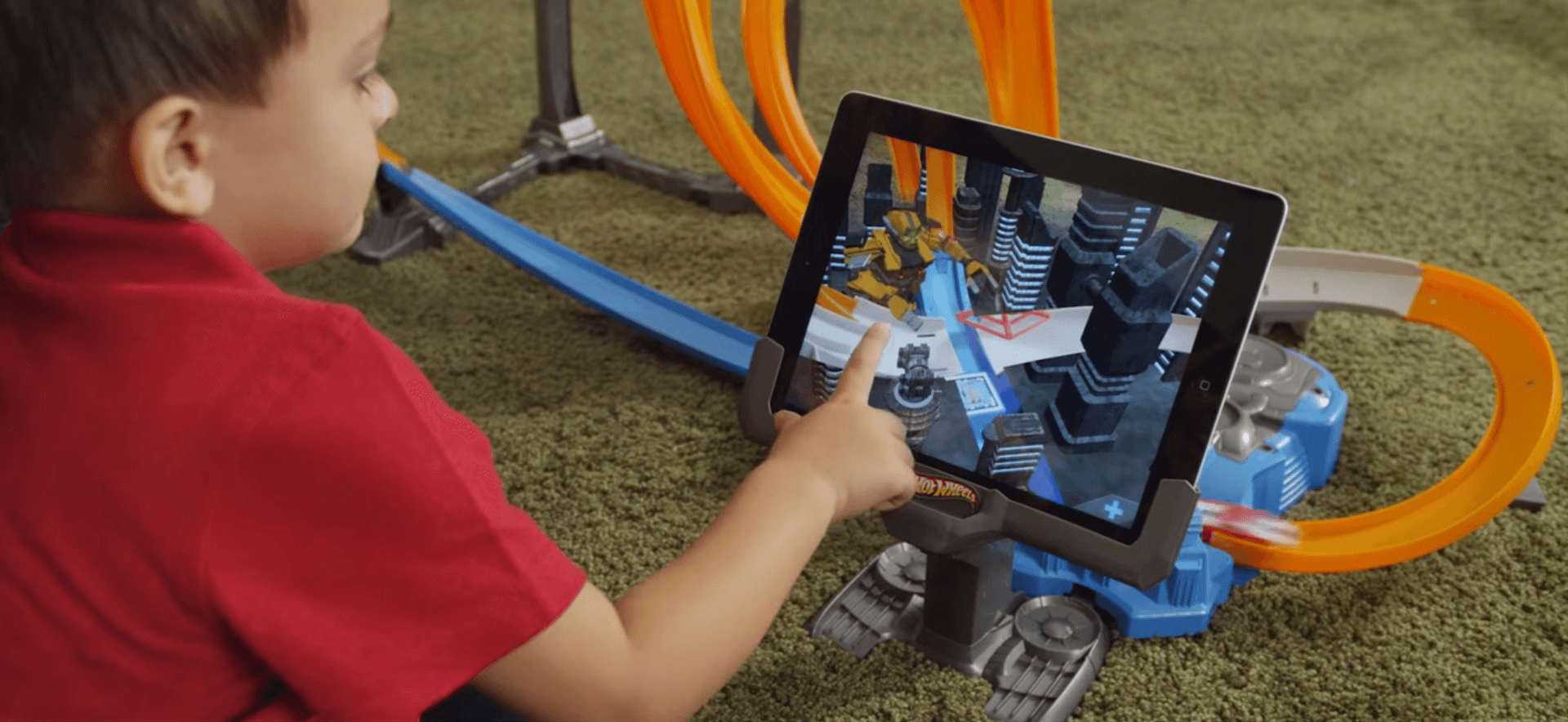 Augmented Reality in marketing activities of companies hot wheels