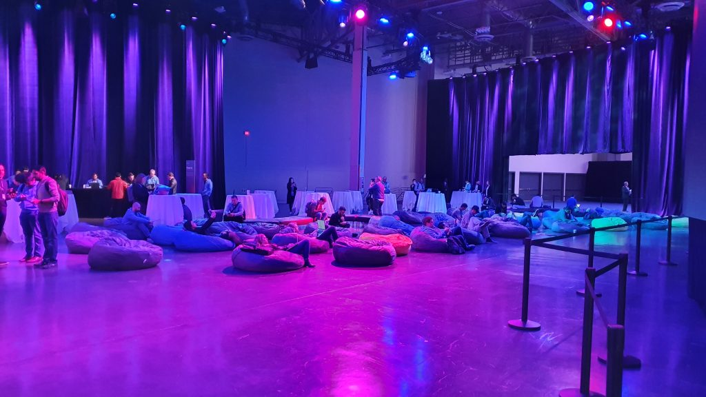 re:Invent resting zones