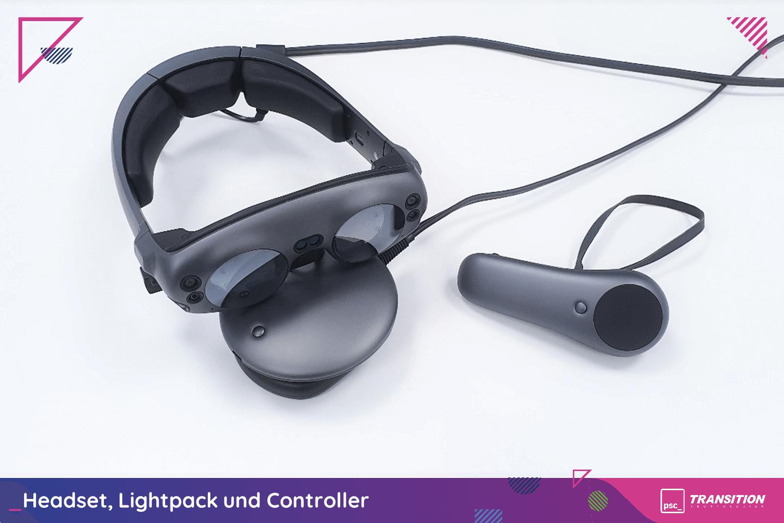 Headset, Lightpack und Controller