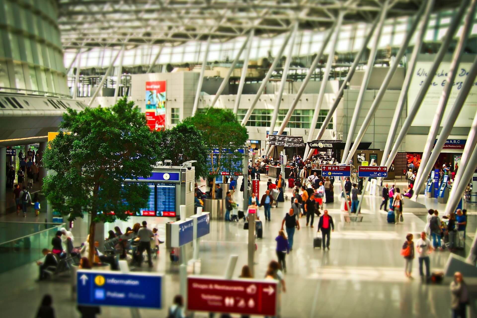 Internet of Things solutions for airports