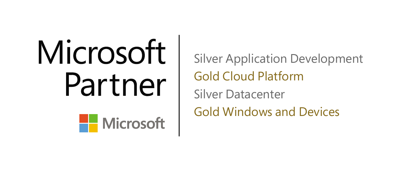 logo Gold Cloud Windows Microsoft Partner