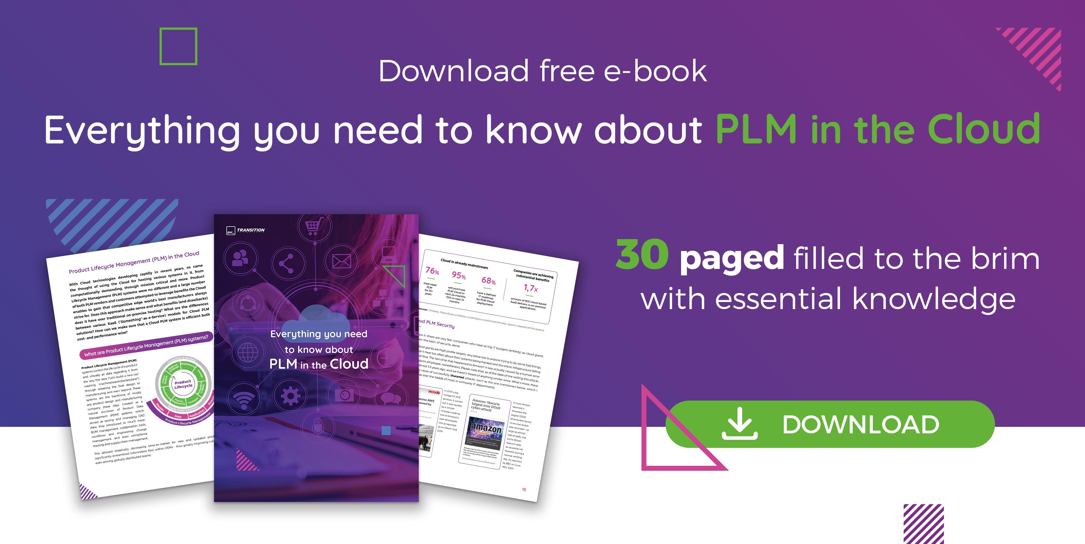 PLM CLOUD free ebook