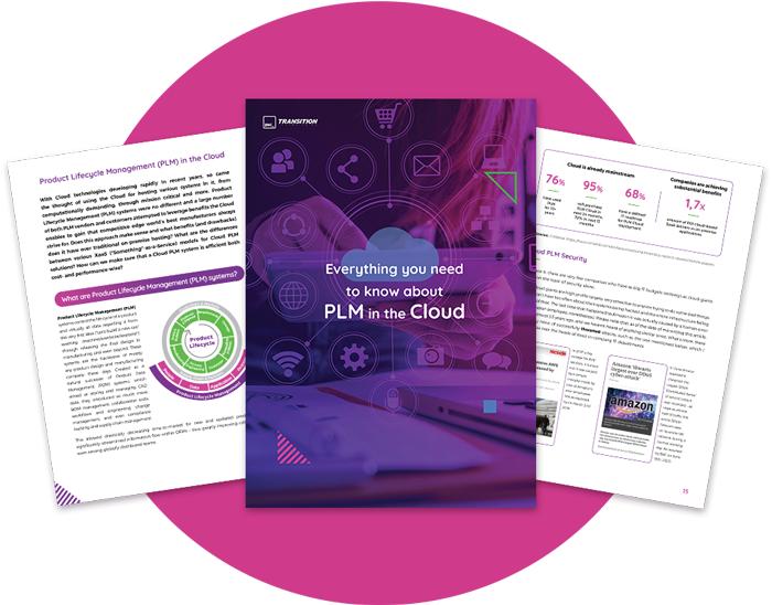 PLM Cloud ebook image