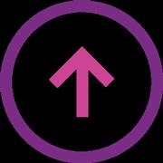 arrow top icon