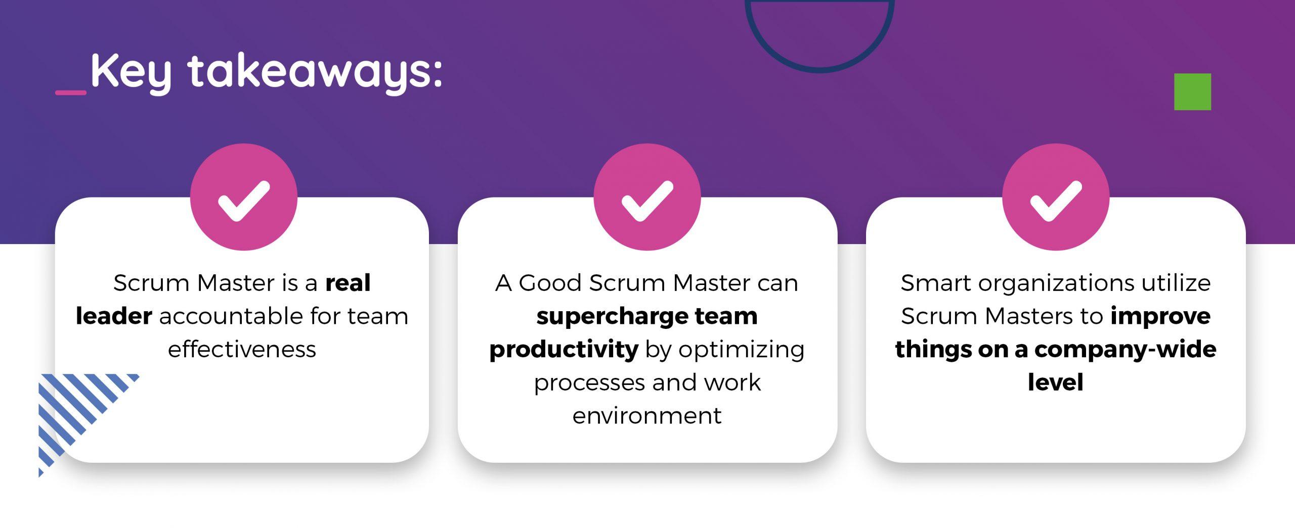 Scrum Master role is not really important- key takeaways TT PSC