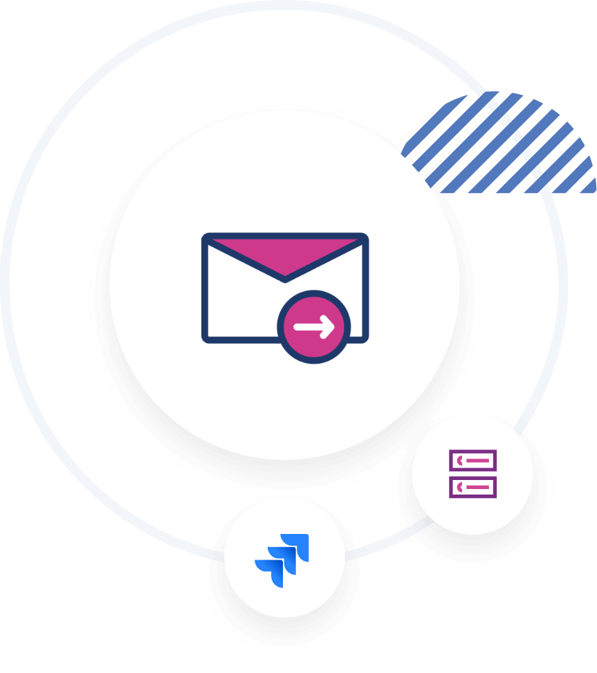 Email task for Jira, email z Jira, emails in Jira, email app for Jira